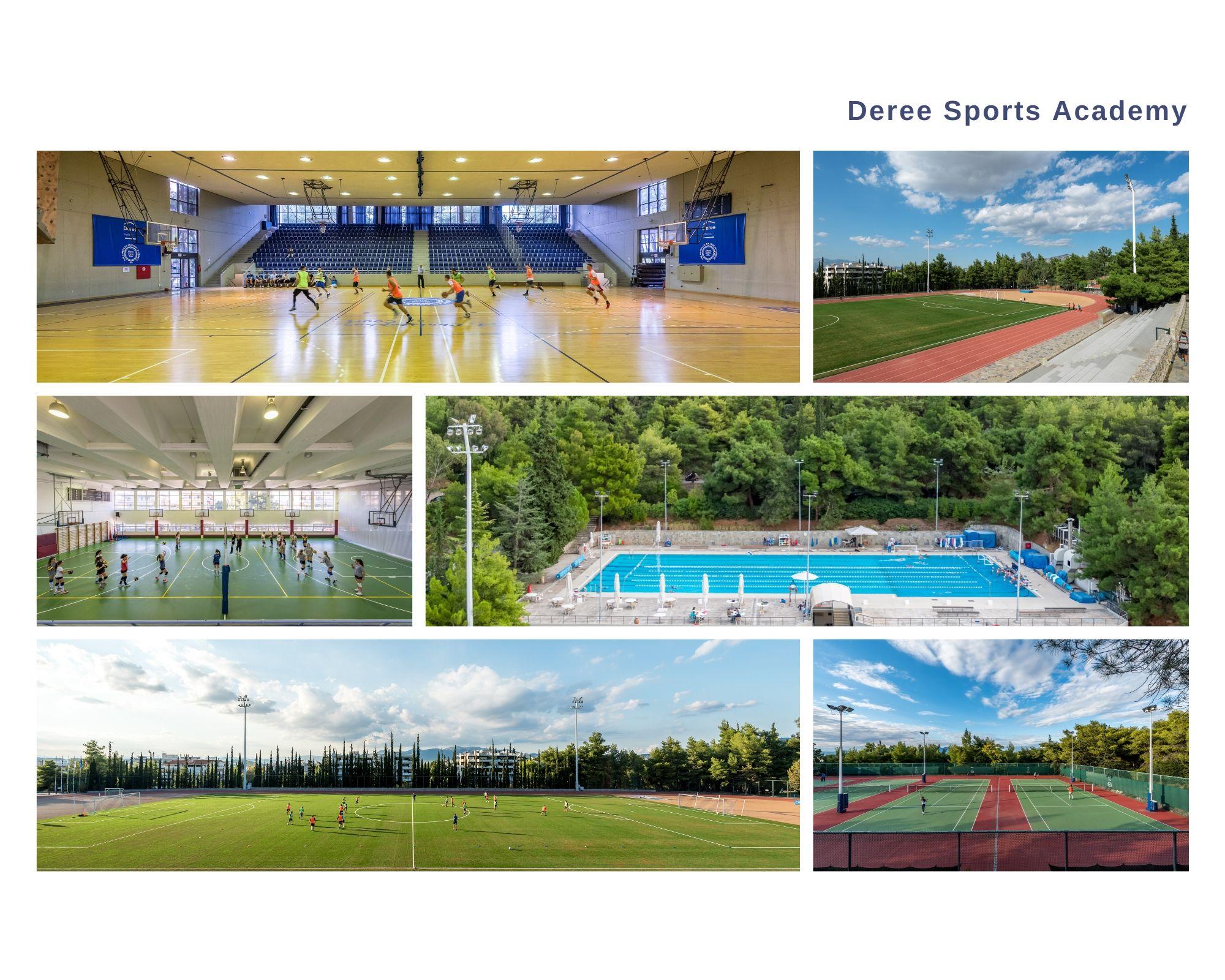 Πρόγραμμα Deree Sports Academy και εγγραφές 2020-21.