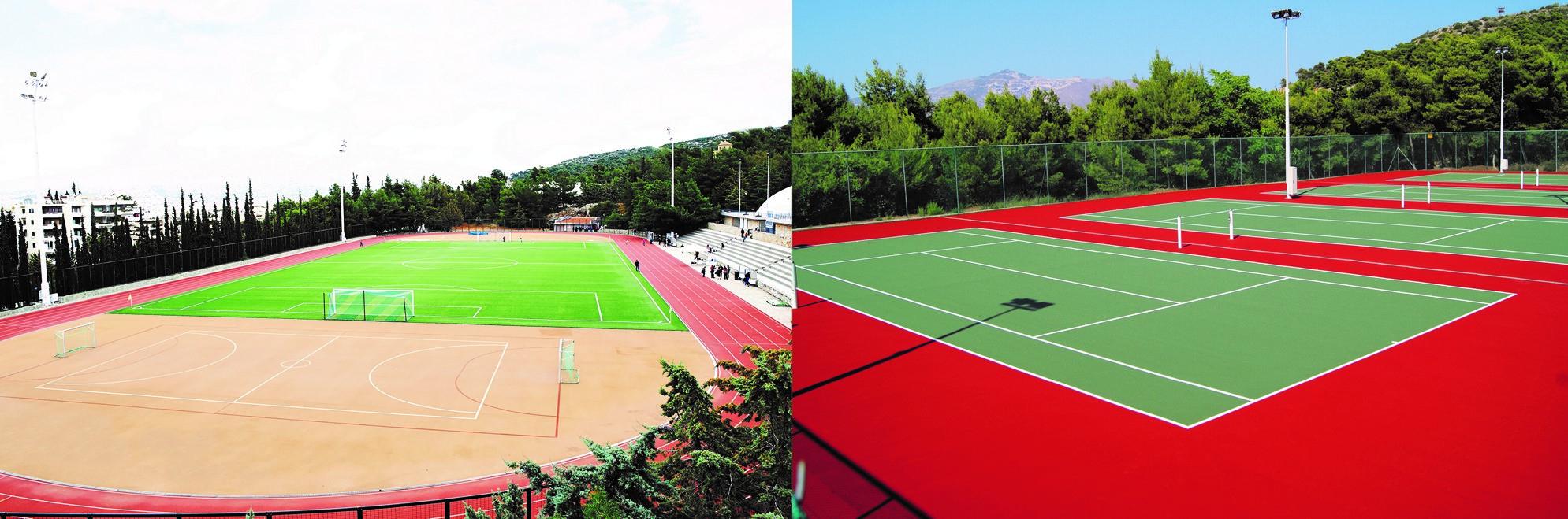 Χρήση γηπέδων τένις και στίβου για ατομική άθληση (ACG Fitness FULL members)
