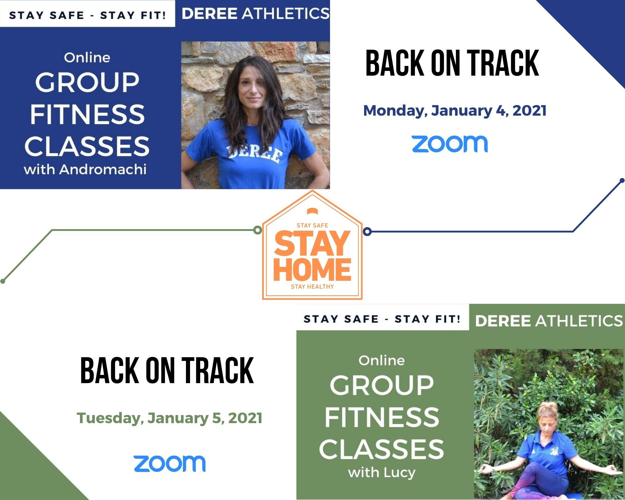 Τα online ομαδικά προγράμματα ξανά μαζί σας από 4 Ιανουαρίου!
