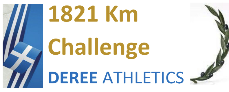 1821 Km Challenge-Distance covered!