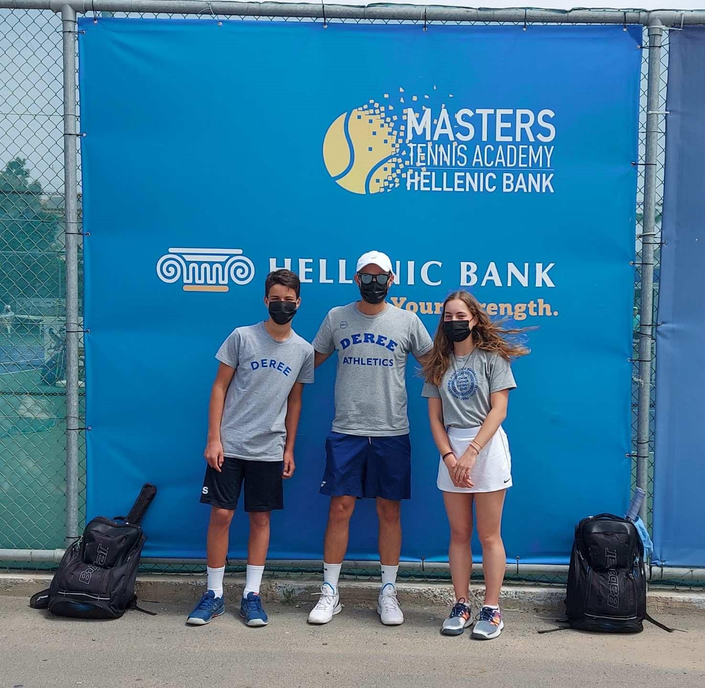 Έντονη αγωνιστική δραστηριότητα αυτήν την εβδομάδα για τους αθλητές της Deree Tennis Academy στην Κύπρο!