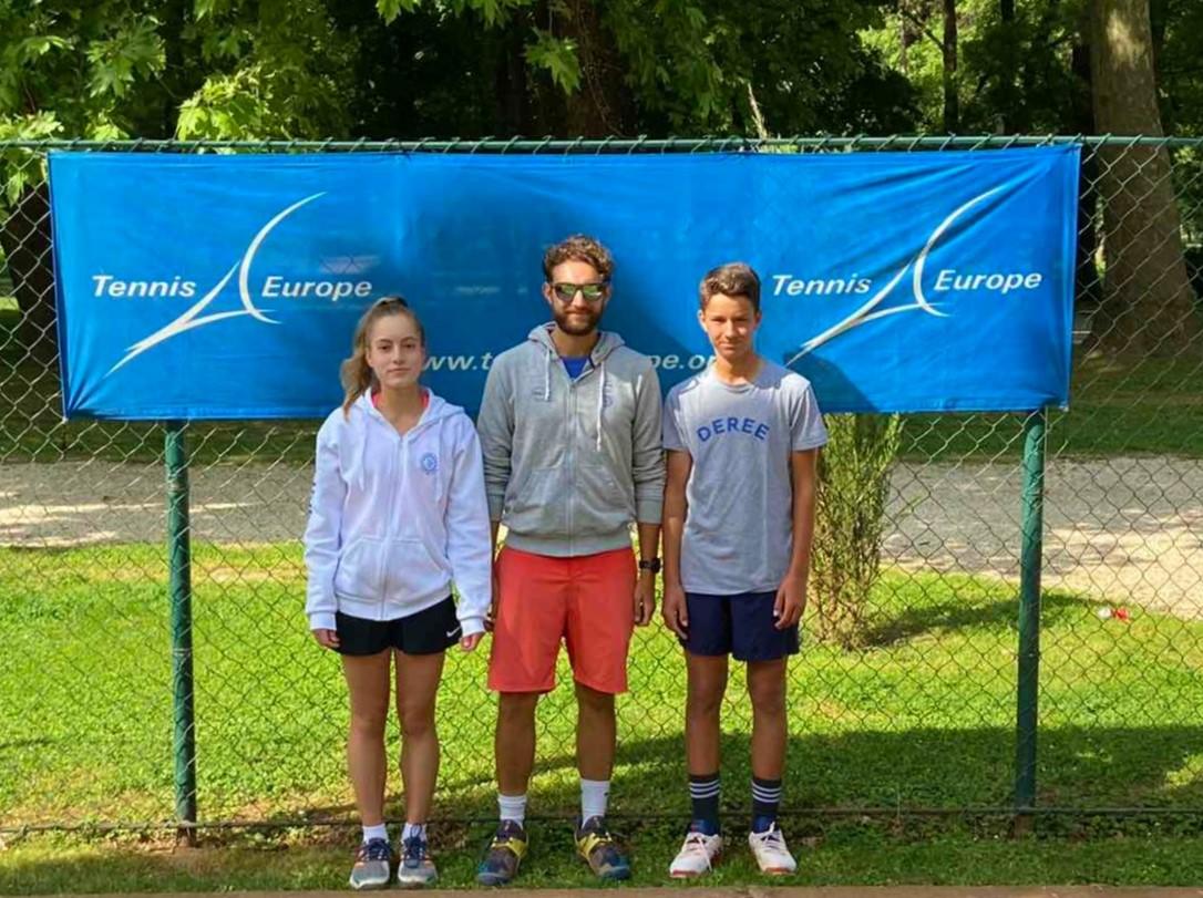 Καλές εμφανίσεις για τους αθλητές μας στο τένις στα Σκόπια!
